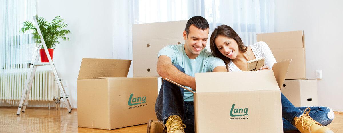 Spedition Lang Wordwide Moving - Ihre Zufriedenheit ist unser Ziel