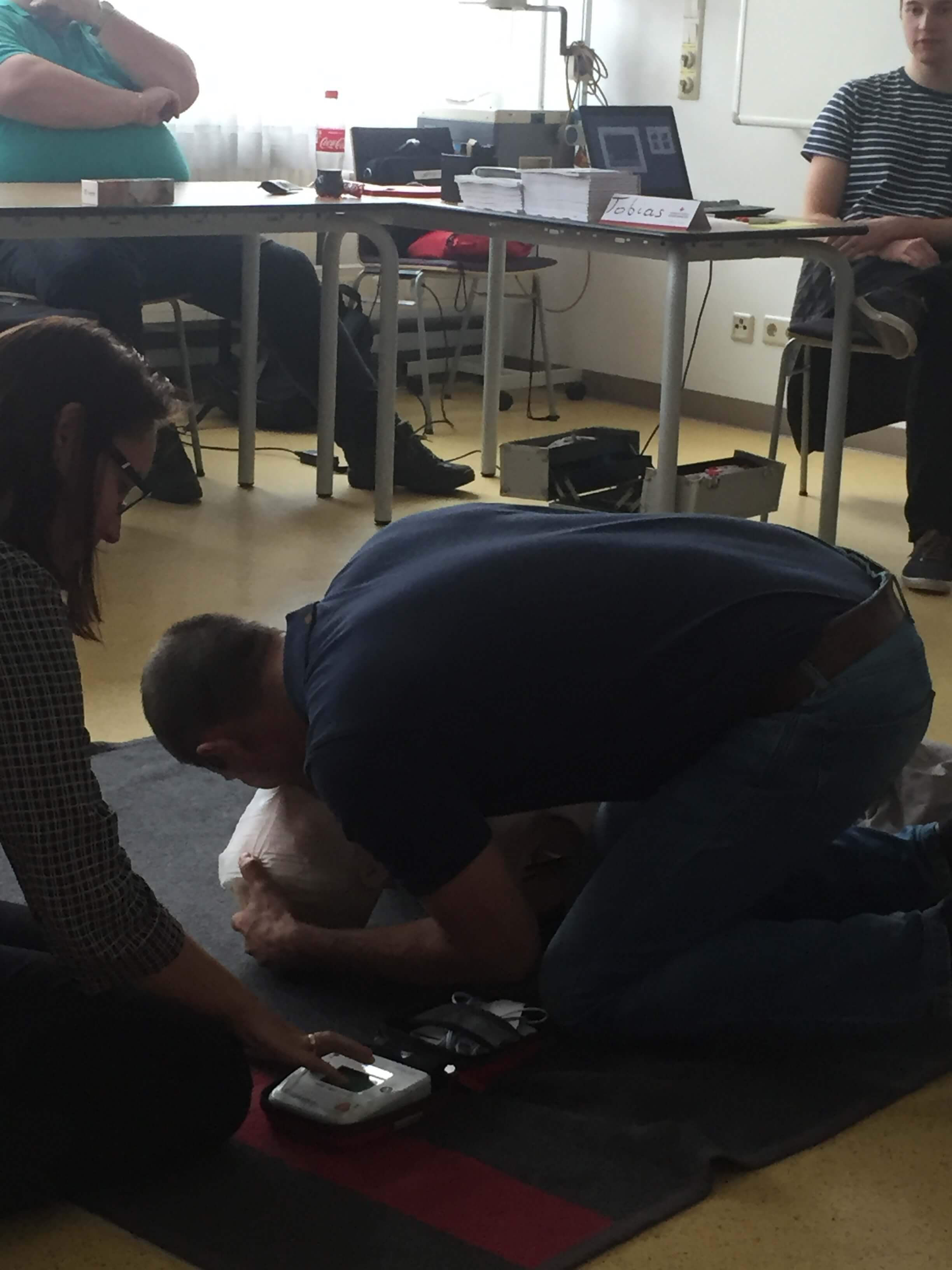 First aid course for our employees