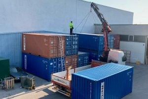 Erweiterung der Lagerkapazität