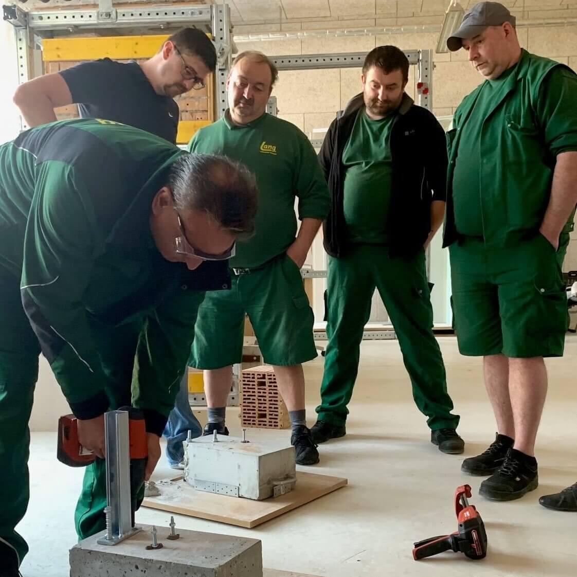 Hilti Schulung für Montage und Dübelkunde