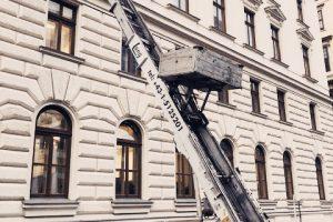 Kartontransport Finanzbehörde Wien