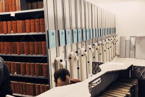Library relocation Vienna Chamber of Commerce