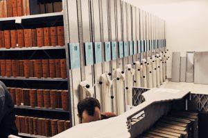 Bibliotheksumzug Wirtschaftskammer Wien